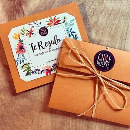 Gift Card / Taller De Huerta Orgánica a Domicilio