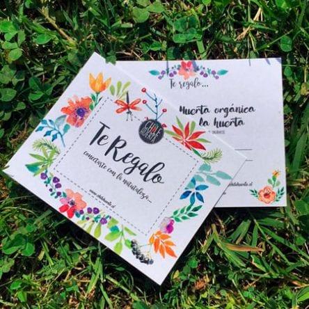 Gift Card / Taller de Huerta Orgánica
