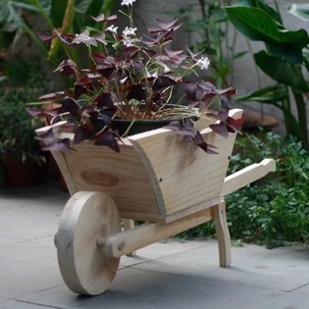 Carretilla jardinera